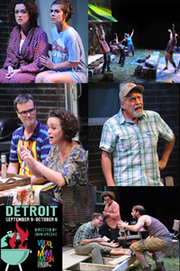 DETROIT - Directed by John Vreeke - Woolly Mammoth Theatre Company, Washington DC