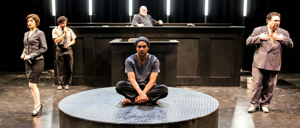 The Last Days of Judas Iscariot - Directed by John Vreeke - Forum Theatre, Washington DC